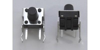 Micro Switch 6*6*11mm pájecí nožky tlač.zboku
