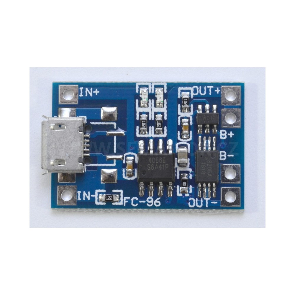 zdroj 5V/1A micro USB dobíjecí modul