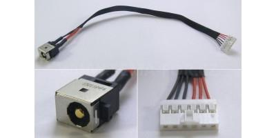 Napájecí konektor s kabelem Asus F751 K56C K550C R510C S550C S56C X450CA X550 X751