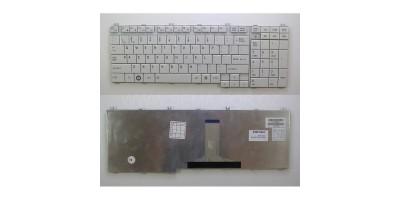 Tlačítko klávesnice TOSHIBA Satellite P300 P305 L505 L355 A500 A505 silver UK