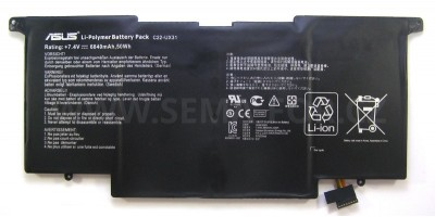 battery Asus C22-UX31  7.4V 6840mAh