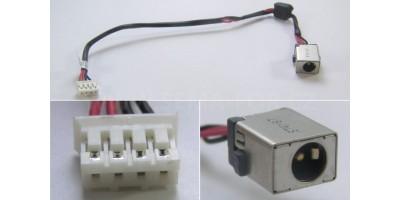 Napájecí konektor s kabelem CON095  Acer E5 - 195 mm 7x11mm