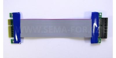 PCI-E 4x prodlužovací kabel 17cm