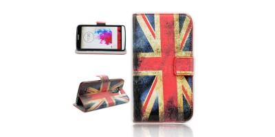 """LG G3 - 5,5"""" flipové pouzdro - vzor UK vlajka"""