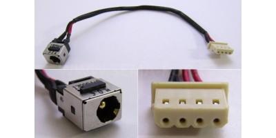 napájecí konektor Fujitsu Siemens AH530 AH531 LH530 LH531 s kabelem