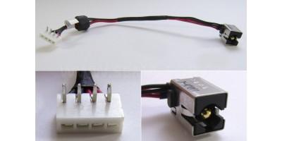 Napájecí konektor Toshiba Satellite L670 670D L675 675D s kabelem