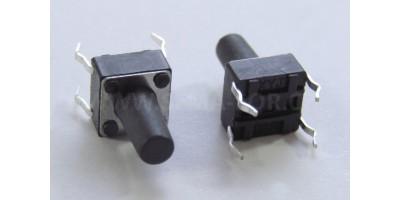Micro Switch 6*6*10mm pájecí nožky
