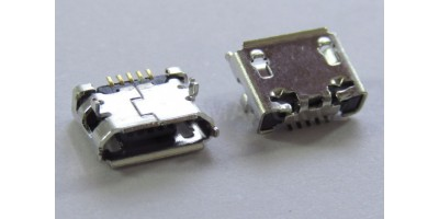 konektor micro USB B 5 pin female 33A