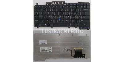 Tlačítko klávesnice Dell Latitude D620 D630 D631 D820 D830 black CZ trackpoint