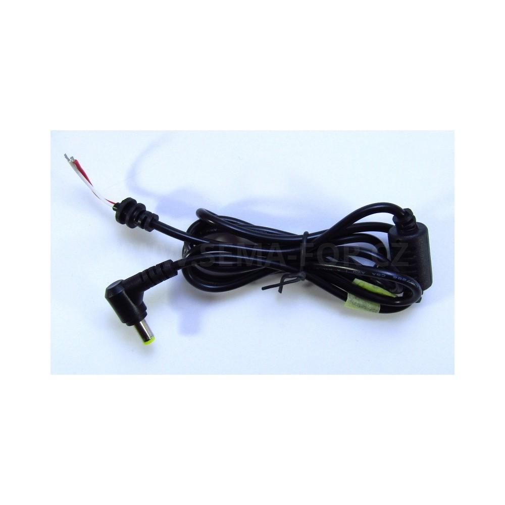kabel k nap jec mu zdroji notebooku 5 5x1 7 l konektor. Black Bedroom Furniture Sets. Home Design Ideas