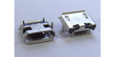 konektor micro USB B 5 pin female 4B