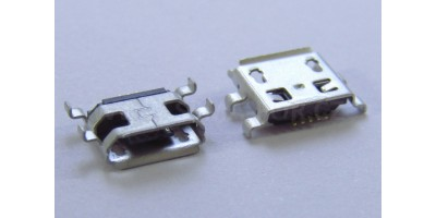 konektor micro USB B 5 pin female 5C