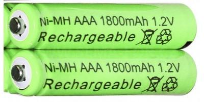 mikrotužková baterie NI-MH AAA 1800mAh 1.2V - nabíjecí