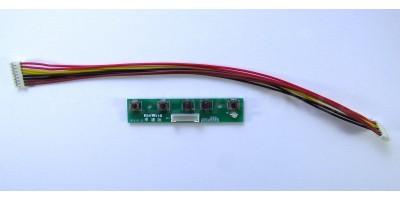 tlačítka pro universal LCD vga board
