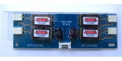 Invertor AVT2404D pro LCD 10-30V