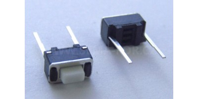 Micro Switch 3x6x5mm 2 pájecí nožky