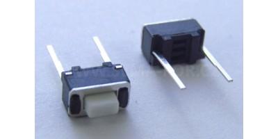 Micro Switch 3x6x5mm 2 pájecí nožky