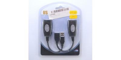 kabel aktivní prodlužovací USB RJ45