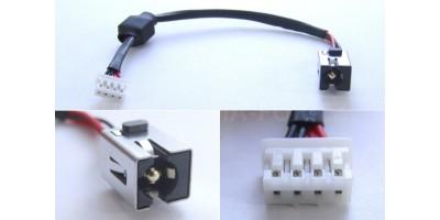 Napájecí konektor s kabelem CON174 - 2.5mm