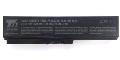 baterie T6 pro Toshiba Satellite L730, L735, L740, L745, L750, L755, L775, 10,8V / 5200mAh / 56Wh