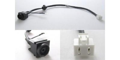 napájecí konektor s kabelem SONY Vaio M760 M763  015-0001-1455-A - 180mm