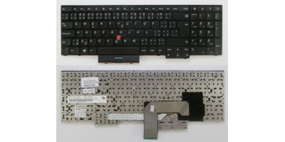 Tlačítko klávesnice IBM Lenovo ThinkPad Edge E530 E535 E545 black CZ s touchpoint