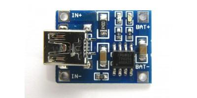 zdroj 5V/1A mini USB dobíjecí modul