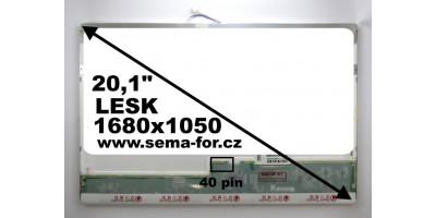 """20"""" LED displej B201SW01 V.0 použitý"""