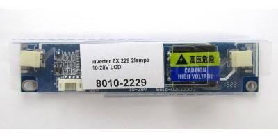 inverter ZX 229 2lamps 10-28V LCD