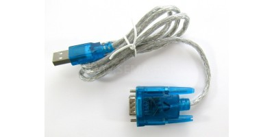 adapter USB to RS232 serial 9 pin kabel