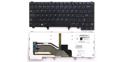 Tlačítko klávesnice Dell Latitude E5420 E5430 E6320 E6330 E6420 E6430 E6440 black CZ podsvit touchpoint - dotisk