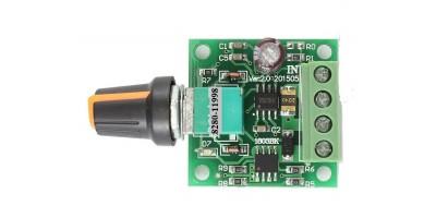 PWM regulátor stejnosměrného motoru 1,8-15V /2A