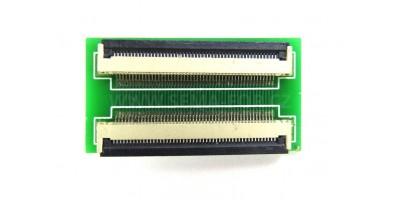 konvertor 50p to 50p pro FFC kabely - rozteč 0,5mm