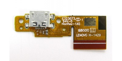 micro usb board Lenovo Yoga Tablet 10 B8000
