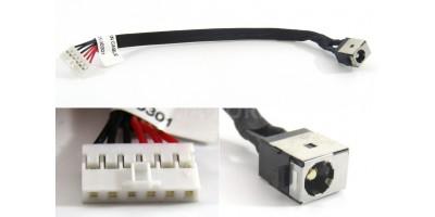 Napájecí konektor s kabelem Asus K56 K56C K56CA K56CM S56C E56C
