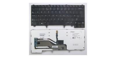Tlačítko klávesnice Dell Latitude E5420 E5430 E6320 E6330 E6420 E6440 black UK backlight