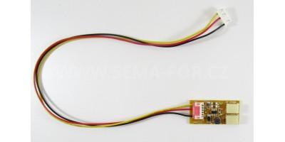 invertor JH-2T009 2lamps 9V + 6-6p kablík 35cm