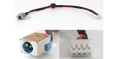 Napájecí konektor s kabelem  Packard Bell TM81 TM83 TM86 TM87 TM98 TS13 TS13-HR