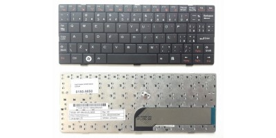 klávesnice Gericom A1 Q10 Air Founder A102 B102 B104 B109 black US/CZ přelepky
