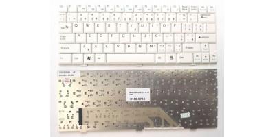 klávesnice Medion Akoya E1210 E1212 S1210 S1211 white US/CZ přelepky