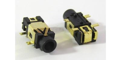 konektor 2,5 stereo jack zásuvka PJ-209 - 5pin