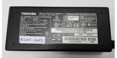 zdroj Toshiba PA-1900-24, 19V/4,74A  5,25*2,5mm originální