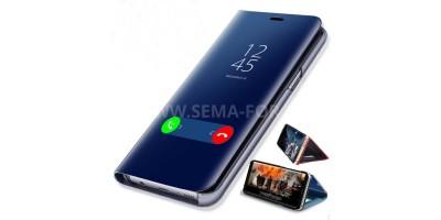 "Samsung S7 - 5,1"" modré flipové pouzdro"