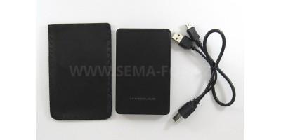 """pouzdro HDD 2,5"""" SATA/eSATA, USB 2.0"""