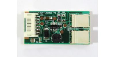 univerzální malý 2x LED invertor 9.6V