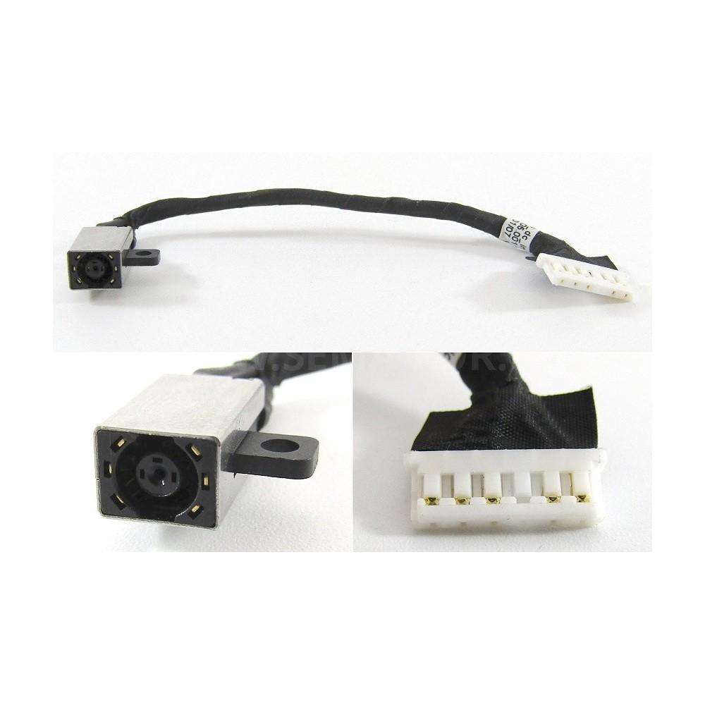 konektor Dell Inspiron 14-3000 15-3000 15-3567 s kabelem 6pin