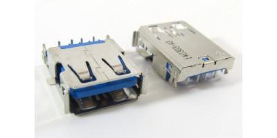 konektor USB A female 16 - Asus  A43S X43S K43 X44L K53 N53SV K53Z
