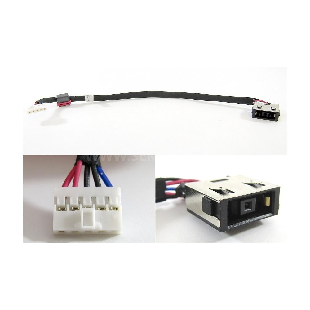 Napájecí konektor s kabelem Lenovo Y50-70 - 11x4,5mm - 5pin