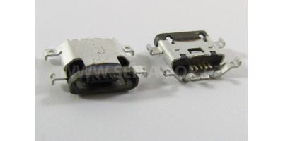 konektor micro USB B 5 pin female 20B - Motorola Moto X XT1060 atd