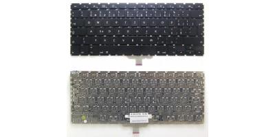 klávesnice pro notebook  Apple Macbook G4 black CZ česká no frame